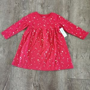 2/$15 BNWT Old navy red dress 12-18M